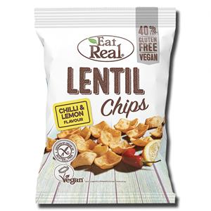 Eat Real Lentil Chips Chilli & Lemon 45g