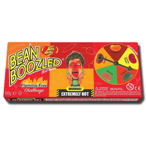 Jelly Belly Bean Boozled Spinner Flaming Five 100g
