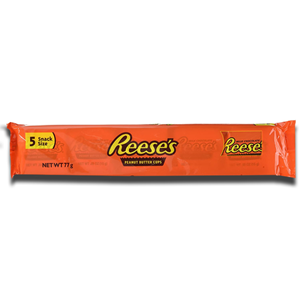 Reeses Peanut Butter Cup 5 Pack 77g