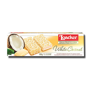 Loacker White Coconut 100g