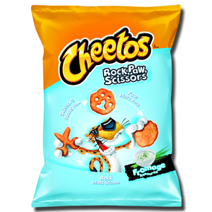 Cheetos Rock Paw Scissors Fromage 85g