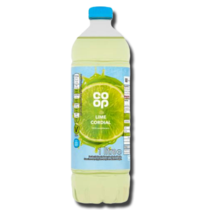 Coop Lime Cordial 1L