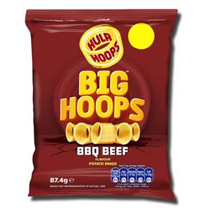 Hula Hoops Big Hoops BBQ Beef 80g