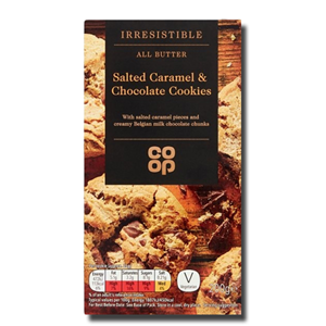 Coop All Butter Salted Caramel Cookies 200g