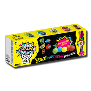 Brain Blasterz Sour Candy Brain Breakerz 45g
