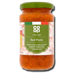 Coop Italian Red Pesto 190g