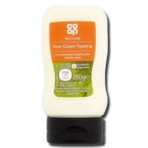 Coop Mexican Sour Cream Topping 280g