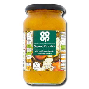 Coop Sweet Piccalilli 375g