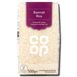 Coop Basmati Rice 1Kg