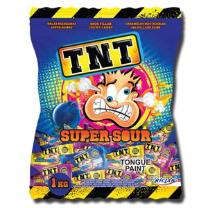 TNT Super Sour Liquid Filled Chews 150g