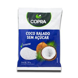 Copra Coco Ralado sem Açucar 100g