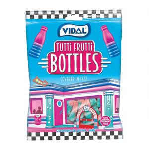 Vidal Gomas Tutti Frutti Bottles 100g