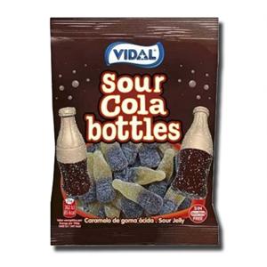 Vidal Gomas Sour Cola Bottles 100g