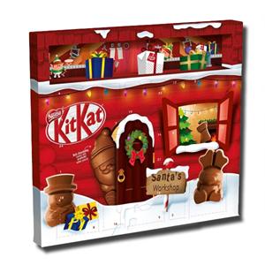 Nestlé Kit Kat Santa Milk Chocolate Advent Calendar 195g