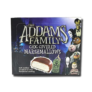 Rose The Addams Family Choc Covered Mallows 150g
