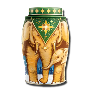 Williamson Large Elephant Golden Star English Breakfast Tin 40's 100g