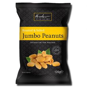 Hider Roasted & Salted Jumbo Peanuts 120g