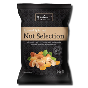 Hider Roasted and Salted Nut Selection 90g