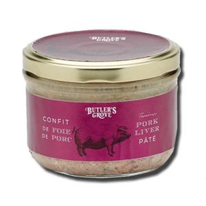 Butler's Grove French Pates Farmhouse Pork Liver Pate 180g