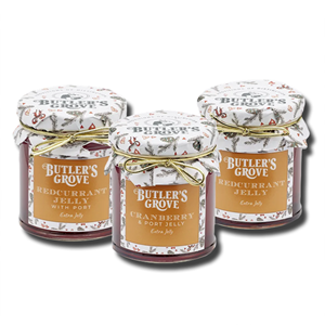 Butler's Grove Cranberry Jelly with Port 227g