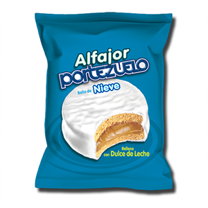 Alfajor Portezuelo Baño de Nieve 40g
