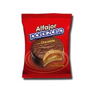 Alfajor Portezuelo Chocolate 38g