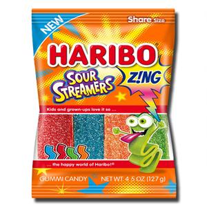 Haribo Sour Streamers 127g