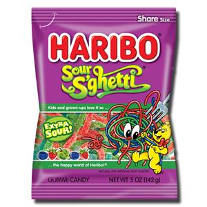 Haribo Sour Sghetti 142g