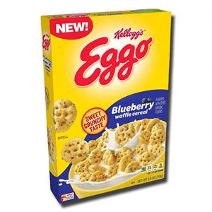 Kellogg's Eggo Blueberry Waffle Cereal 249g