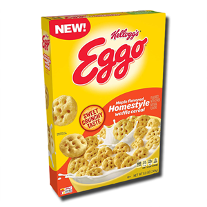 Kellogg's Eggo Maple Flavored Homestyle Waffle Cereal 249g