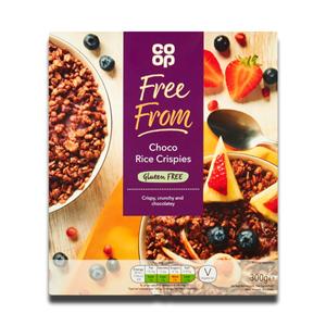 Coop Choco Rice Crispies 375g