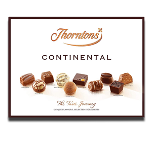 Thorntons Continental Carton Box 284g