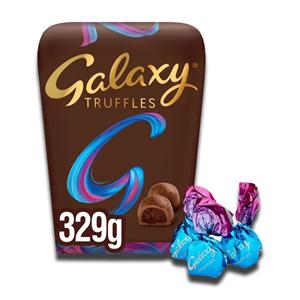 Galaxy Truffles Chocolate Large Gift Box 329g