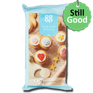 Co Op Ready to Roll White Icing 1Kg