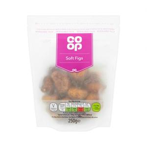 Co Op Soft Figs 250g