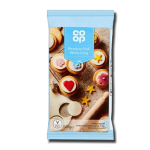 Co Op Ready to Roll White Icing 500g