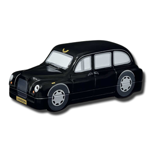 The London Black Taxi with English Shortbread Biscuits 100g