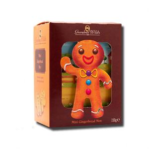 Grandma Wild's 3D Gingerbread Man Box 150g