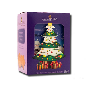 Grandma Wild's 3D Christmas Tree Box 150g