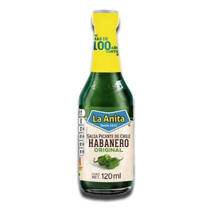 La Anita Green Habanero Hot Sauce 120ml