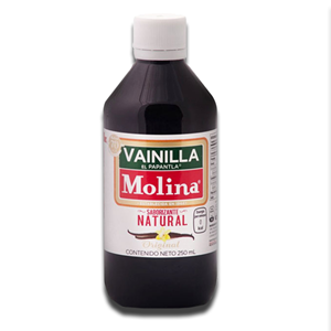 Vainilla Molina Saborizante Natural Baunilha 250ml