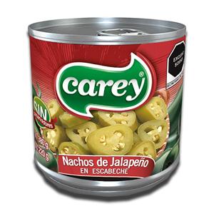Carey Nachos de Jalapeño em Escabeche 380g
