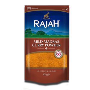 Rajah Mild Madras Curry Powder bag 100g
