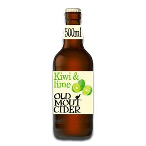Old Mout Cider Kiwi & Lime Bottle 500ml