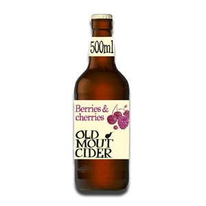 Old Mout Cider Berries & Cherries Bottle 500ml