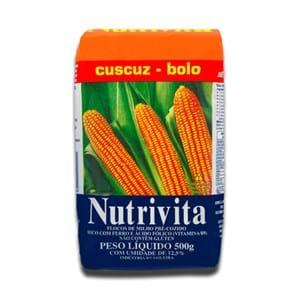 Nutrivita Flocos de Milho para Cuscuz 500g
