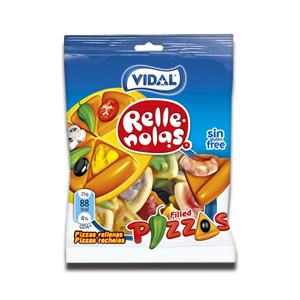 Vidal Gomas Pizzas Rellenolas 100g