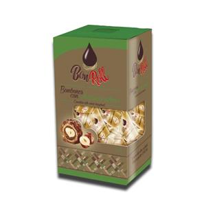 Uniconf Bon Roll Chocolate With Whole Hazelnut Carton 240g