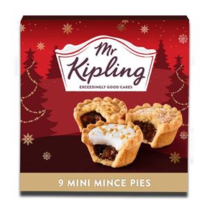 Mr. Kipling 9 Mini Mince Pie Selection 261g