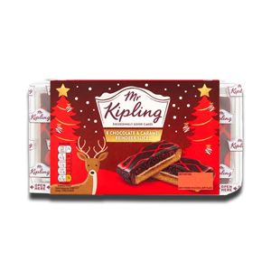 Mr. Kipling Chocolate & Caramel Reindeer Slices 264g